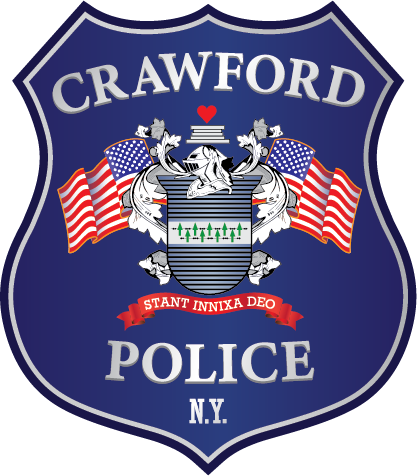 crawford police logo - badge